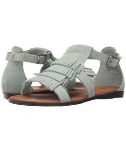 Minnetonka | Maui Mint Suede Womens Sandals