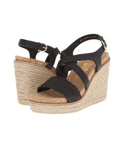 Salvatore Ferragamo | Gioela Nero Venezia Womens Wedge Shoes