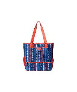 Vera Bradley   Preppy Poly Noso Tote Cobalt Stripe Satchel Handbags