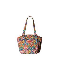 Vera Bradley   Glenna Paisley In Paradise Tote Handbags