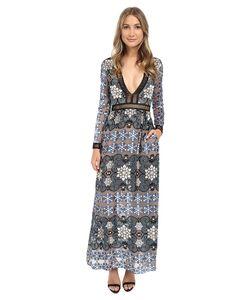 For Love and Lemons | Juliet Maxi Dress Jade Womens Dress