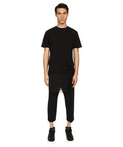 D.Gnak | Layered T-Shirt W/ Detachable Ornament Mens T Shirt