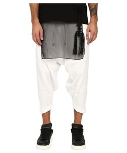 D.Gnak | Diagonal Hem Cropped Pants Mens Casual Pants