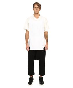 D.Gnak | Traditional Collar Layered T-Shirt Mens T Shirt
