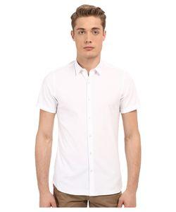 The Kooples | Paper Popeline Short Sleeve Shirt Mens Short