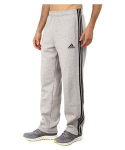 Adidas | Essential Cotton Fleece Pants Medium Grey/Black Mens Casual Pants