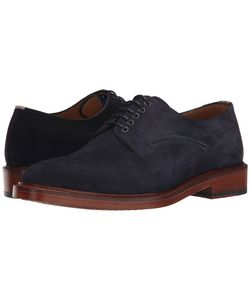 Paul Smith   Ps Reid Oxford Navy Suede Mens Lace Up