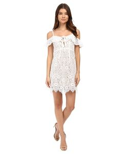 For Love and Lemons | Rosemary Mini Dress Ivory Womens Dress