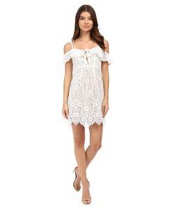 For Love and Lemons | Rosemary Mini Dress Ivory Womens Dress