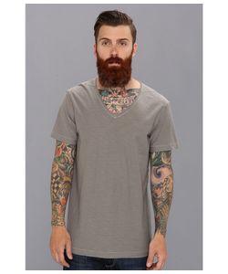 Diesel | T-Tossik Tee Dark/Grey Mens Short Sleeve Pullover