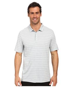 PUMA Golf | Ess Mixed Stripe Polo Quarry Mens Clothing