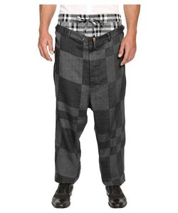 Vivienne Westwood | Cubist Check Builder Trousers Grey Check Mens Casual