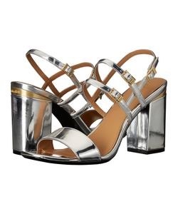 Calvin Klein | Caisiey Metallic Leather Womens Shoes