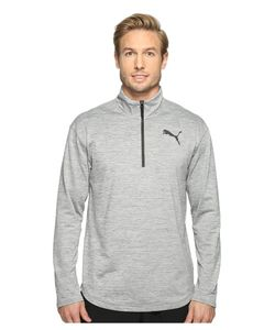 Puma | Tech Fleece 1/4 Zip Top Medium Heather Mens
