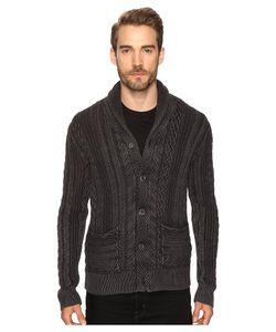 Lucky Brand | Snowpeak Cable Shawl Cardigan Sweater Jet