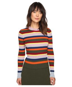 House Of Holland | Stripe Merino And Lurex Jumper