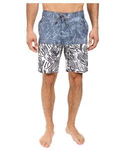 RVCA | Stepper Trunk Dark Denim Swimwear