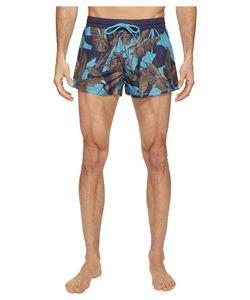 Diesel | Sandy Leaf Camo Print 2 Inch Swim Boxer Lanu
