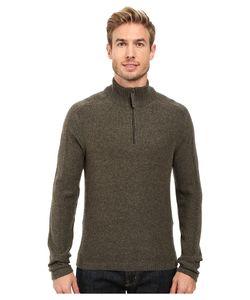 Royal Robbins | Fireside Wool 1/4 Zip Sweater Dark