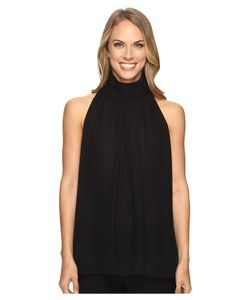 Vince Camuto | Sleeveless Shir Neck Halter Blouse Rich Womens
