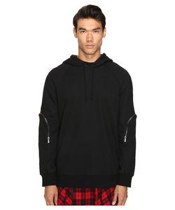 D.Gnak | Zip Sleeve Hoodie Sweatshirt