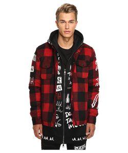 Haculla | Punkwork Overshirt Plaid Clothing