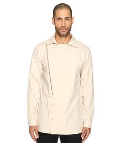 D.Gnak | Oblique Zip-Up Shirt Mens Clothing
