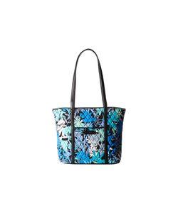 Vera Bradley   Small Trimmed Vera Camofloral/Black Tote Handbags