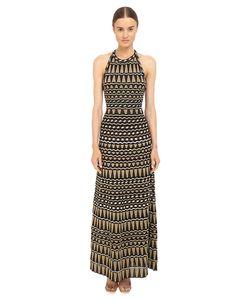M Missoni | Lurex Geometrc Maxi Dress Womens Dress