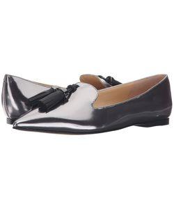 Ivanka Trump | Lama Pewter Multi Leather Womens Flat Shoes