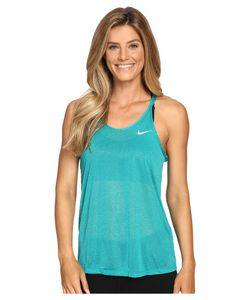 Nike | Dri-Fit Cool Breeze Strappy Running Tank Top Rio Teal/Reflective