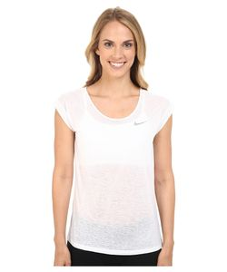 Nike | Dri-Fit Cool Breeze Running Top /Reflective Silver Womens Short