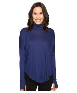 Michael Michael Kors | Long Sleeve Drop Shoulder Turtleneck Sapphire Womens
