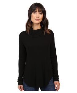 Michael Stars | Thermal Long Sleeve Cowl Neck Top