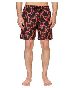 Paul Smith | Long Classic Swim Shorts Multi Mens Swimwear