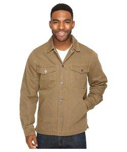 Woolrich   Dorrington Shirt Jacket Sediment Mens Coat