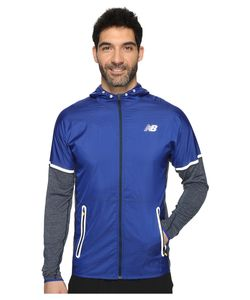 New Balance | Performance Merino Hybrid Jacket Galaxy Heather/Galaxy Mens Coat