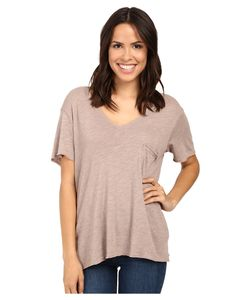 Project Social T | Drewry Pocket Tee Sepia T Shirt