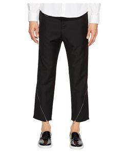D.Gnak | Oblique Zip Pants Mens Casual Pants