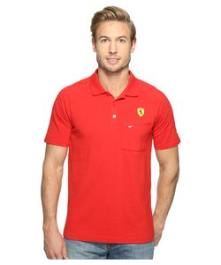 Puma | Sf Polo Rosso Corsa Short Sleeve Knit