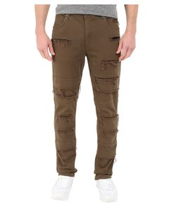 Publish | Ogden Classic Fit Brushed Stretch Twill Pants With