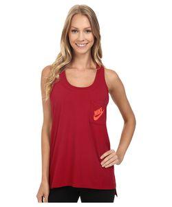 Nike | Signal Tank Top Noble /Bright Crimson Womens Sleeveless