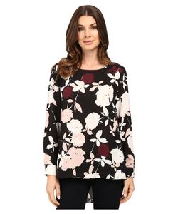 Vince Camuto | Long Sleeve Chapel Rose High-Low Blouse Rosy Flush