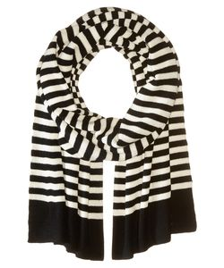 Marc Jacobs | Logo Stripe Scarf Multi Scarves