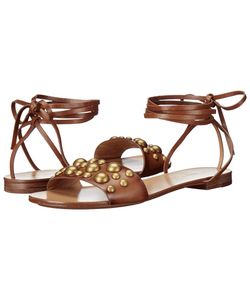 Michael Kors | Mica Luggage Burnished Vachetta/Studs Womens Dress Sandals
