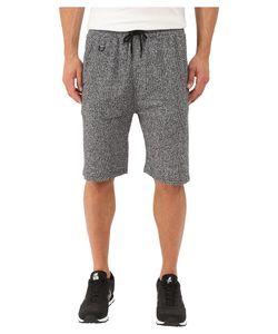 Publish | Kieran Two-Tone Heathered Terry Elastic Drawstring Shorts