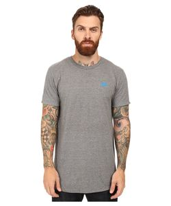 Primitive | Arch Pennant Lightweight Tee Atheltic Heather Mens T Shirt