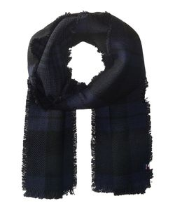 Tommy Hilfiger | Bi Color Reversible Houndstooth Tartan Scarves