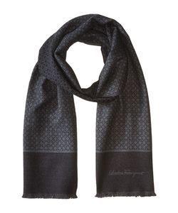 Salvatore Ferragamo | Mini Gancini Wool Scarf 526043 Scarves