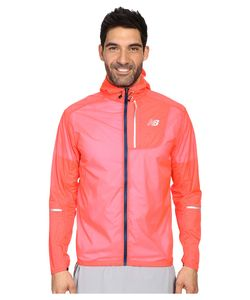 New Balance | Lite Packable Jacket Bright Cherry Mens Coat